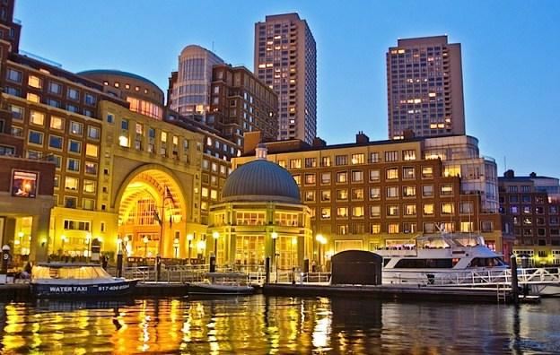 Boston Harbor Hotel Exterior