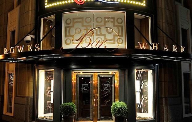 Boston Harbor Hotel Rowes Wharf Bar