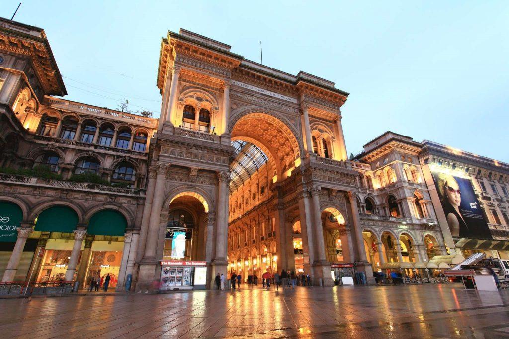 Galleria Vittorio Emanuele II Milan Italy