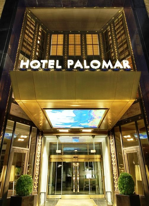 Hotel Palomar Philadelphia entrance