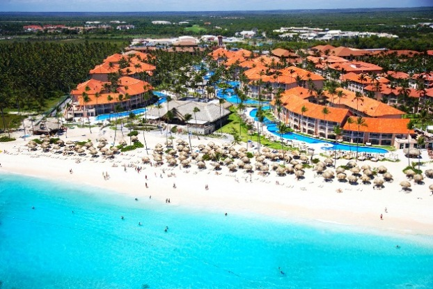Majestic Elegance Punta Cana aerial view