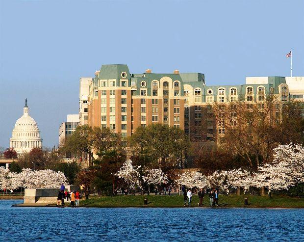Mandarin Oriental, Washington D.C. exterior