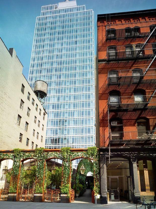 Mondrian Soho hotel exterior