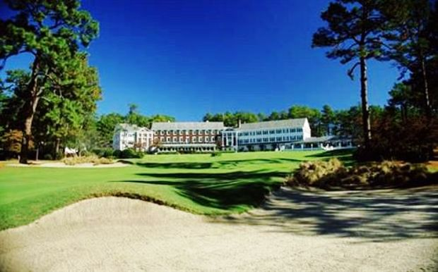 Pine Needles Lodge & Golf Club  clubhouse hotel