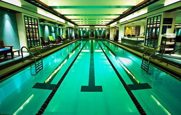 Boston Harbor Hotel  Rowes Wharf Pool