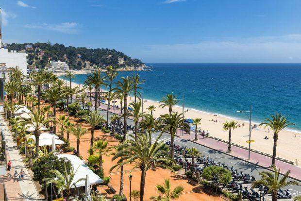 Lloret de mar Spain beaches