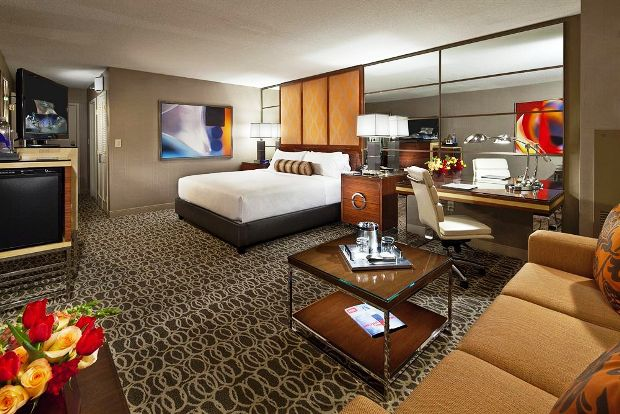 MGM Grand Hotel and Casino Guest room