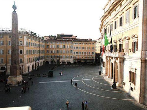 The Hotel Nazionale Montecitorio Square