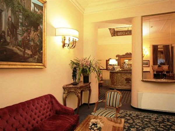 The Hotel Nazionale lobby