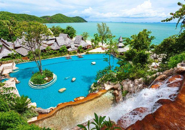Santhiya Koh Yao Yai Resort & Spa aerial pool view
