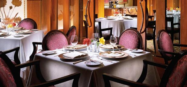 The Fairmont Pierre Marques Dining