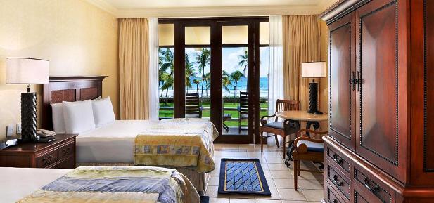The Fairmont Pierre Marques guest rooms