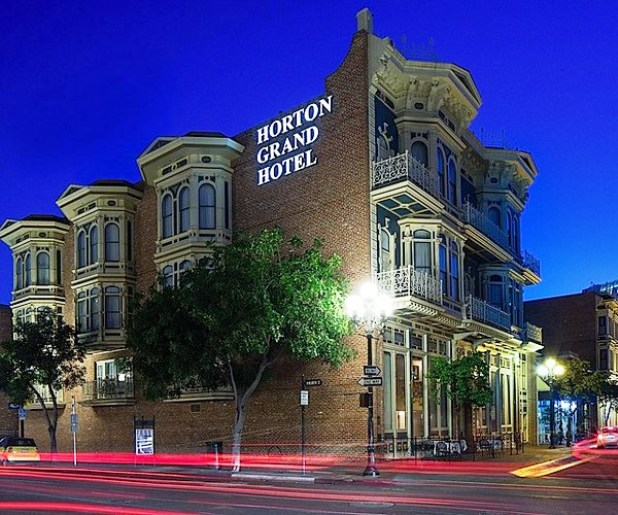 The Horton Grand Hotel Exterior