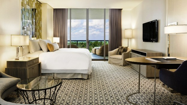 The Ritz-Carlton Bal Harbour Deluxe Ocean View GuestRoom
