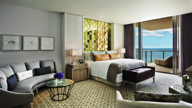 The Ritz-Carlton Bal Harbour Imperial Suite Bedroom
