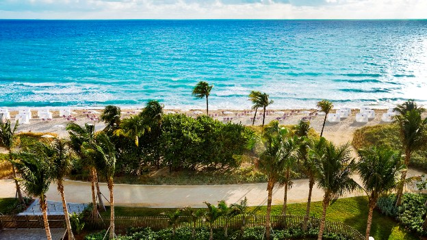 The Ritz-Carlton Bal Harbour beach view