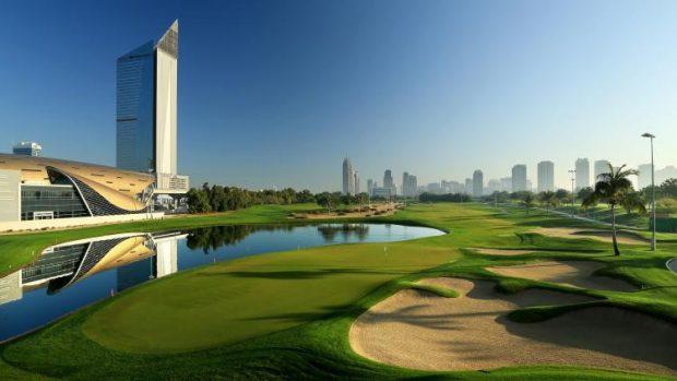 emirates golf faldo course Dubai