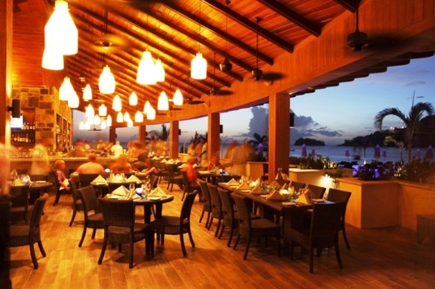 Buccament Bay Resort Dining