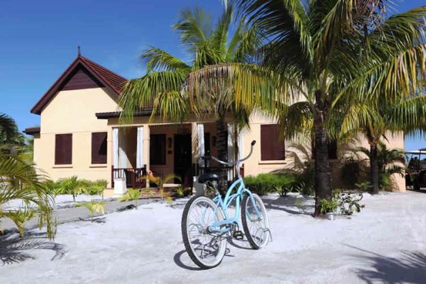Buccament Bay Resort beach front villa