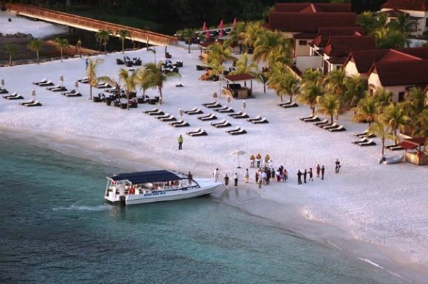 Buccament Bay Resort boat rides