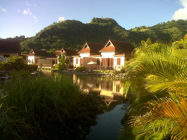 Buccament Bay Resort garden villas