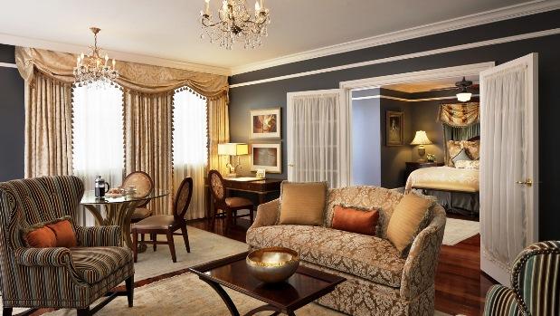 Ritz New Orleans Suite
