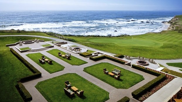 The Ritz-Carlton, Half Moon Bay patio