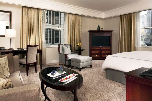 The Peninsula New York Guestroom
