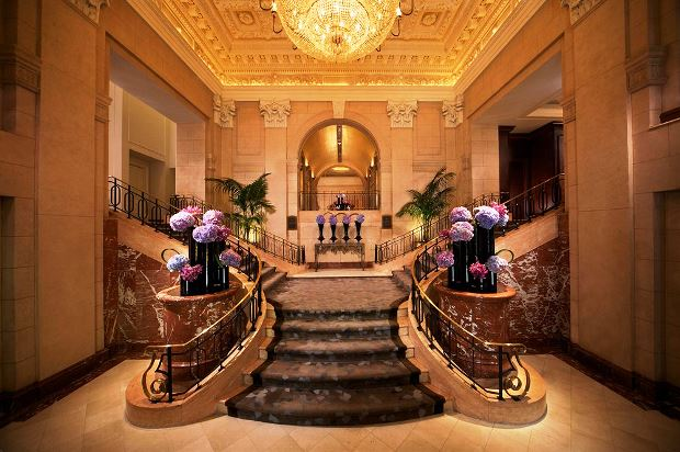 The Peninsula New York lobby