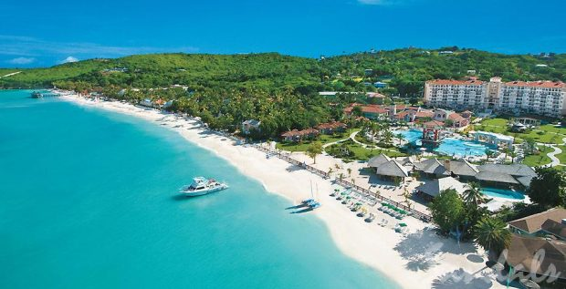 Antigua beaches and resorts