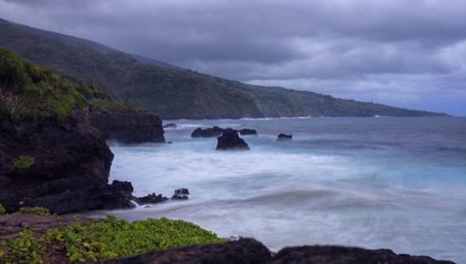 Dramatic coastline near Hana
