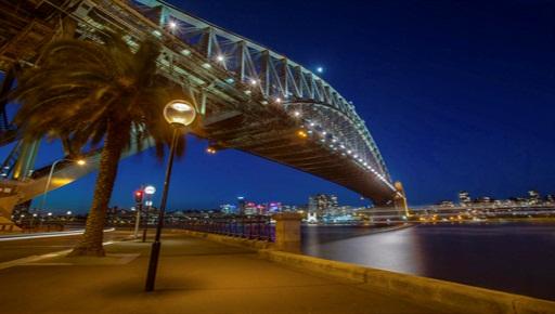 Under the Sydney Harbour Bridge