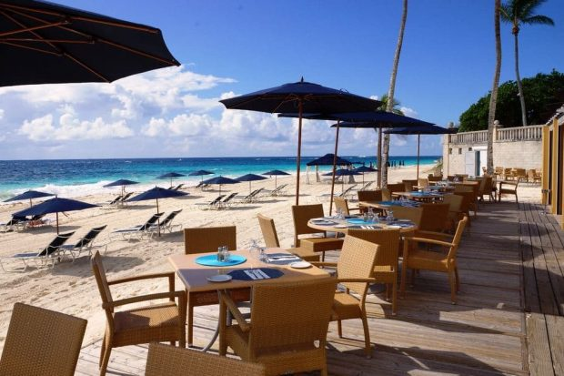 Elbow beach bermuda beach dining