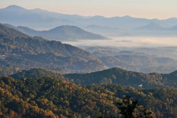 Asheville Mountains north carolina