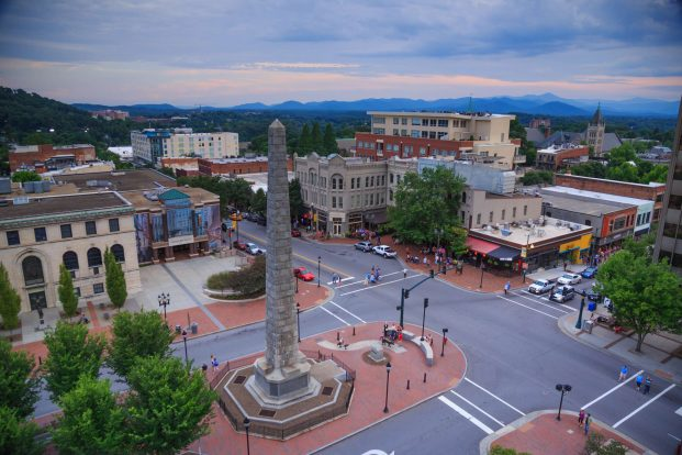 Downtown Asheville NC