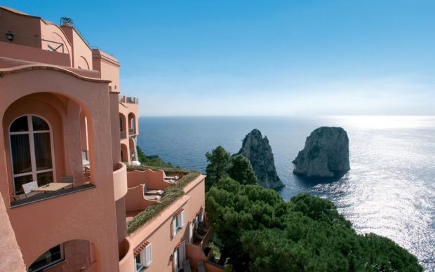 Punta-Tragara-Capri Italy