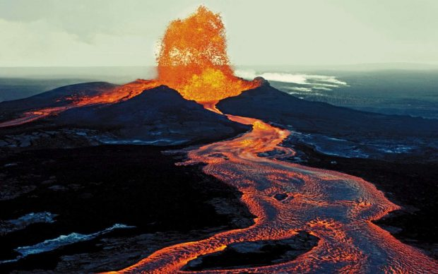 Hawaii Big Island volcanoes