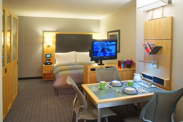 World Trade Hotel suites