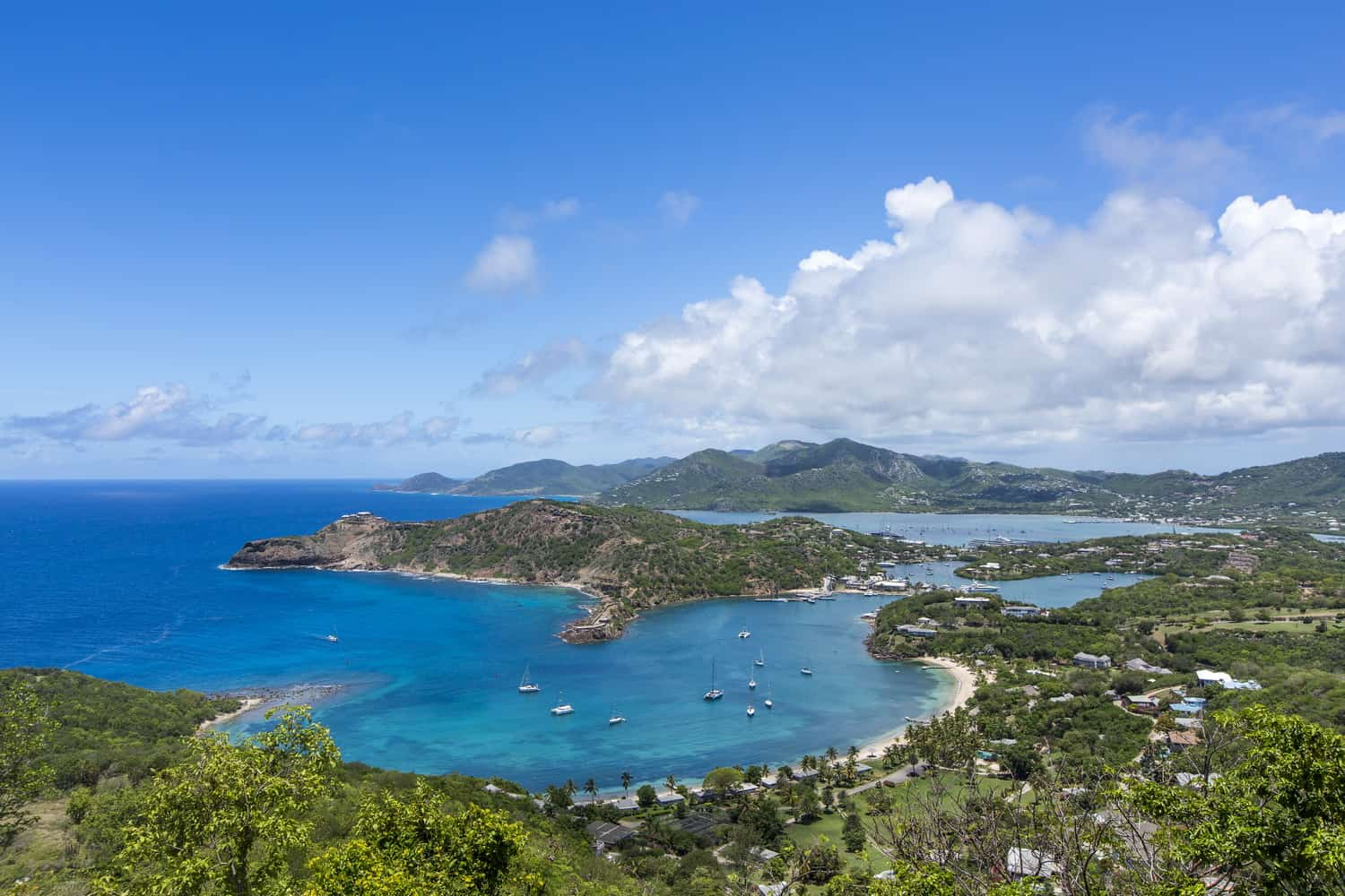 Galley Bay Resort & Spa All Inclusive Antigua view_fron_shirley_heights