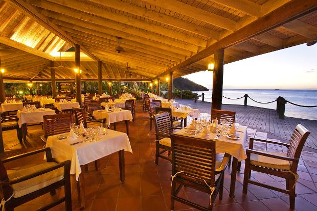 Galley Bay Resort & Spa restaurant