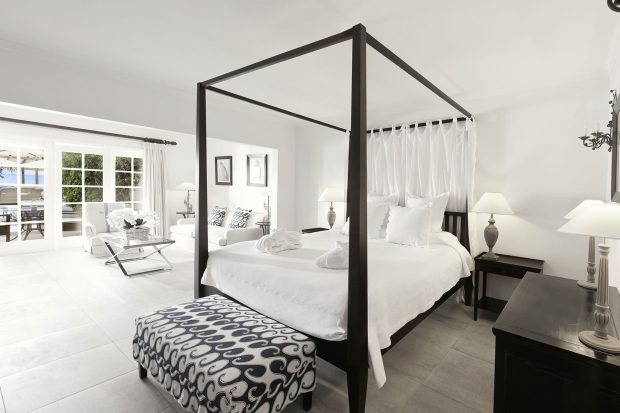 Hotel Saint Barth Isle de France guest rooms