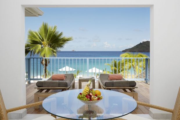 Hotel Saint Barth Isle de France ocean-room
