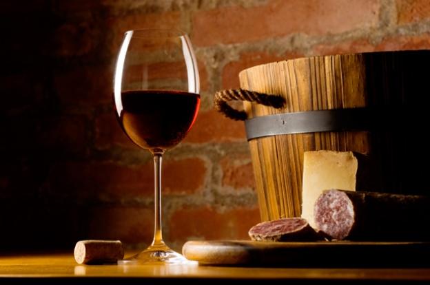 Tuscany wine country