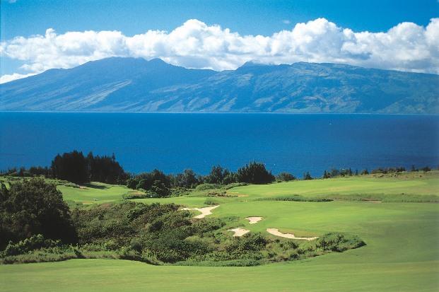 Kapalua golf Hawaii