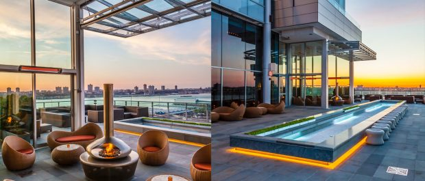 The Press Lounge  rooftop bars in NYC