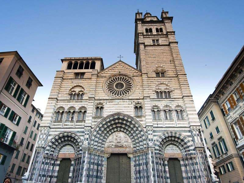 San Lorenzo Cathedral Genoa Italy