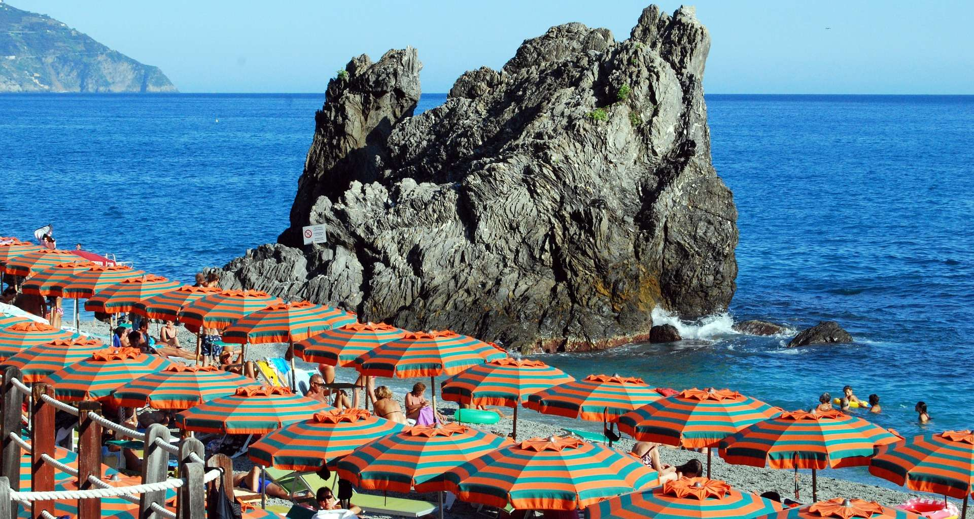 liguria-beach genoa italy