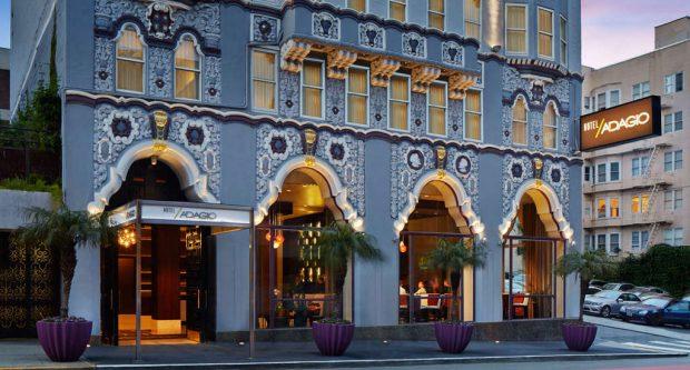 hotel-adagio san francisco exterior