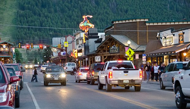 Jackson Hole Wyoming downtown Jackson Hole Wyoming must see