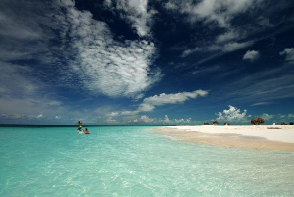 beach on cayo largo del sur cuba